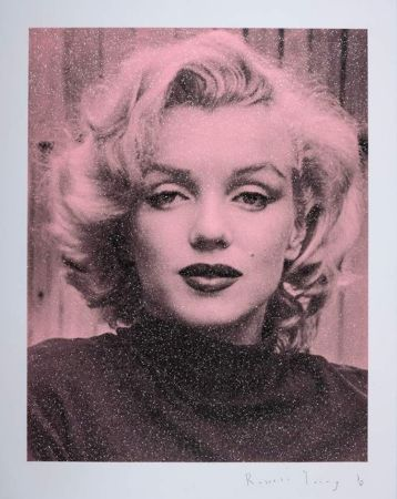 Siebdruck Young - Marilyn Hollywood - Superstar Pink