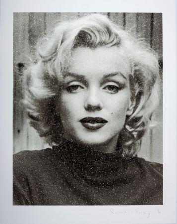 Siebdruck Young - Marilyn Hollywood B+W