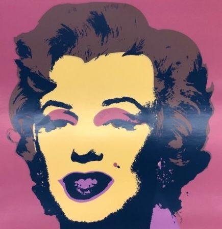 Siebdruck Warhol - Marilyn IX