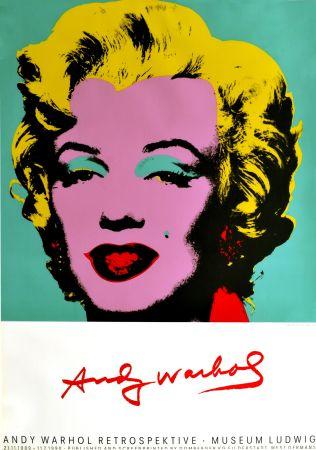 Plakat Warhol - Marilyn Monroe