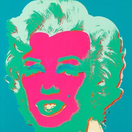 Siebdruck Warhol - Marilyn Monroe (Fs Ii.30)