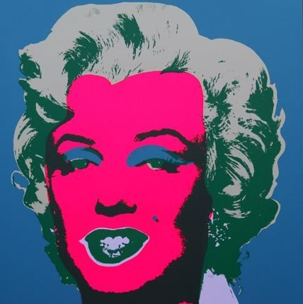 Lithographie Warhol (After) - Marilyn No 30, Sunday B Morning (after Andy Warhol)