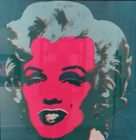 Siebdruck Warhol - Marilyn