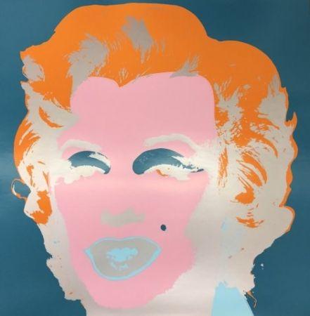 Siebdruck Warhol - Marilyn X