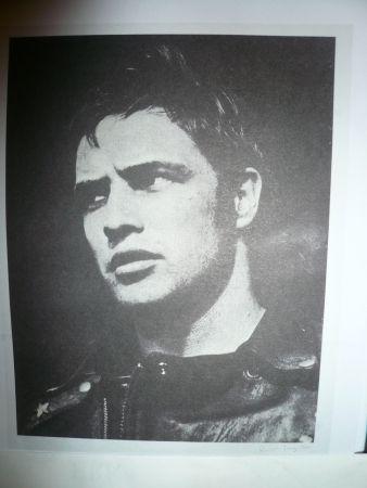 Siebdruck Young - Marlon Brando