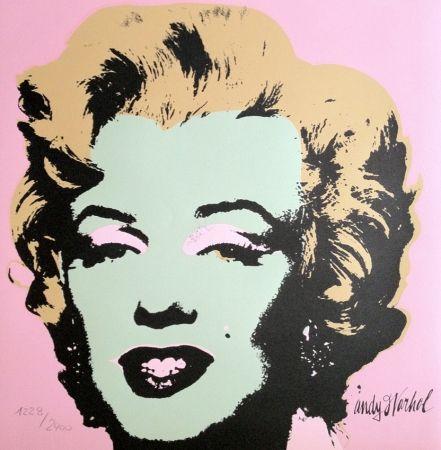 Lithographie Warhol - Marylin Monroe