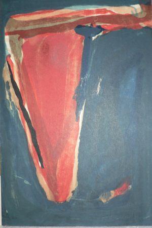 Lithographie Van Velde -  Mason - Putman 314.