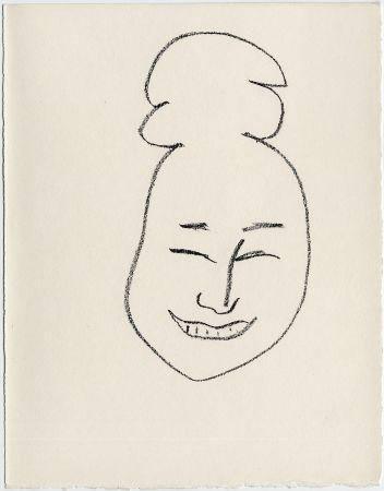 Lithographie Matisse - Masque esquimo n° 4. 1947  (Pour Une Fête en Cimmérie)