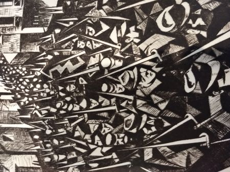 Illustriertes Buch Nevinson - Masters of etching