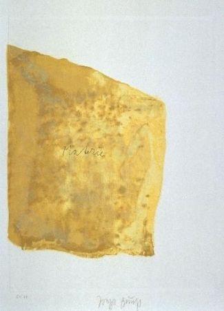 Aquatinta Beuys - Materie