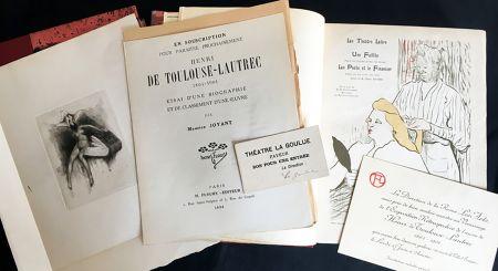 Illustriertes Buch Toulouse-Lautrec - Maurice Joyant. HENRI DE TOULOUSE-LAUTREC, 1864-1901. [Vol. 1] Peintre - [Vol. 2] Dessins-Estampes-Affiches. (Exemplaire sur Japon avec suites et pièces ajoutées)