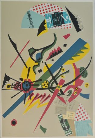 Siebdruck Valdés - Menina Kandinsky