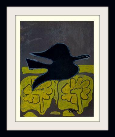 Lithographie Braque - Menton