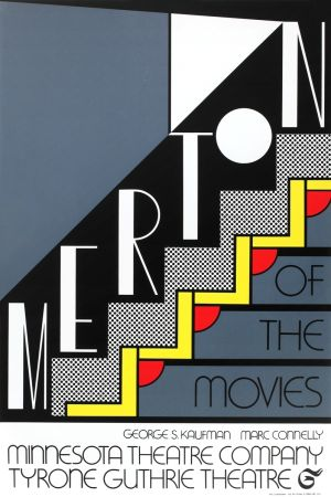 Siebdruck Lichtenstein - Merton of the Movies