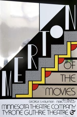 Siebdruck Lichtenstein - Merton Of The Movies Poster (Hand Signed)