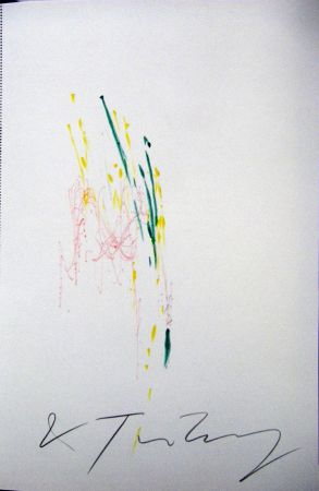Monotypie Tinguely - Meta Matic No6
