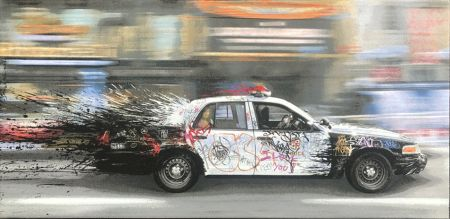 Keine Technische Mr. Brainwash - Metro Polisa (Canvas)