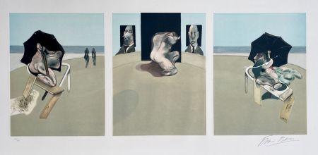 Aquatinta Bacon - Metropolitan triptych