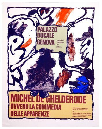Plakat Alechinsky - Michel de Ghelderode, 1980