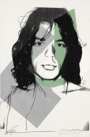 Siebdruck Warhol - Mick Jagger (FS II.138)