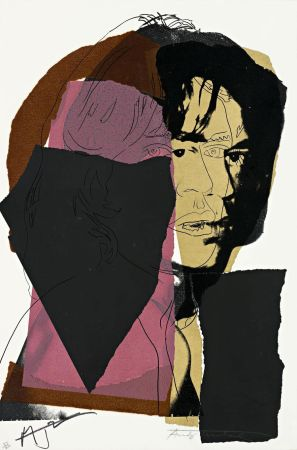 Siebdruck Warhol - Mick Jagger (FS II.139)