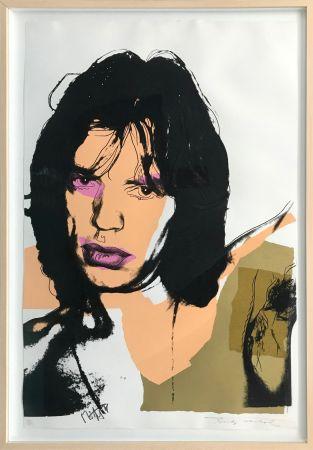 Siebdruck Warhol - MICK JAGGER FS II.141
