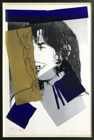Siebdruck Warhol - MICK JAGGER FS II.142