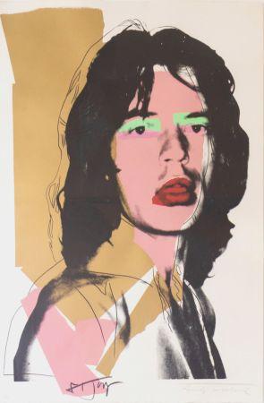 Siebdruck Warhol - Mick Jagger (FS II.143)