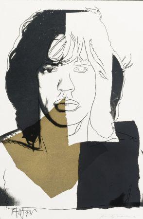 Siebdruck Warhol - Mick Jagger (FS II.146)