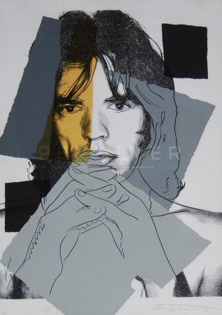 Siebdruck Warhol - Mick Jagger (Fs Ii.147)