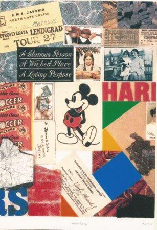 Siebdruck Blake - Mickey