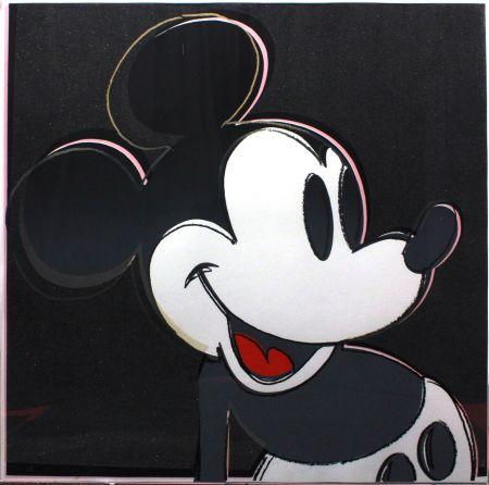 Siebdruck Warhol - Mickey Mouse (FS II.265)