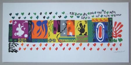 Lithographie Matisse - Mille et une Nuits, 1950