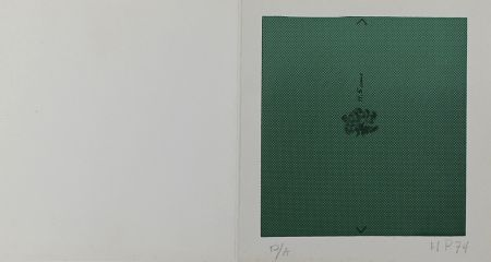 Siebdruck Hernandez Pijuan - Mini Arbre