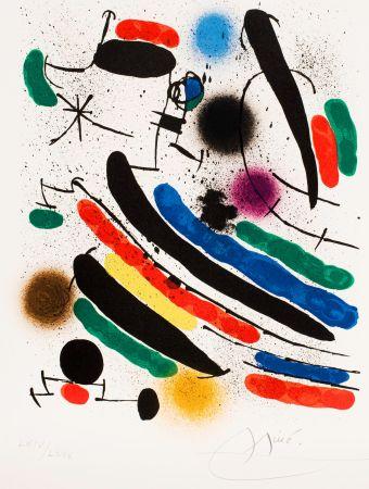Keine Technische Miró - Miró lithographe I (Maeght 856)