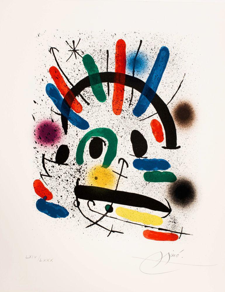 Keine Technische Miró - Miró lithographe I (Maeght 858)