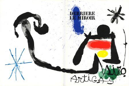 Illustriertes Buch Miró - MIRO - ARTIGAS, Terres de grand feu. Derrière le Miroir n° 139-140. Juin-Juillet 1963.