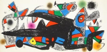 Lithographie Miró - Miro sculpteur, Danemark