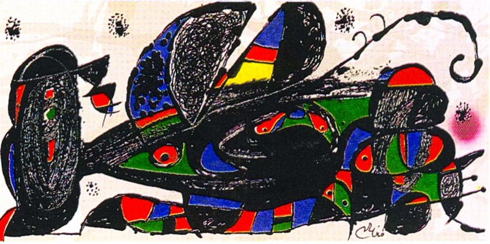 Keine Technische Miró -  Miro Sculptor - Iran