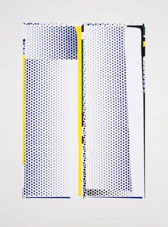 Siebdruck Lichtenstein - Mirror #9