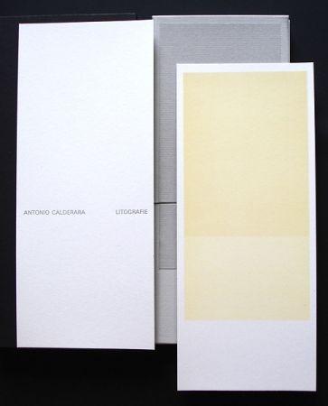 Illustriertes Buch Calderara - Misura Colore Luce