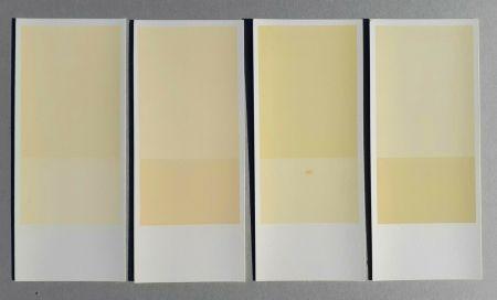 Lithographie Calderara - Misura, luce, colore