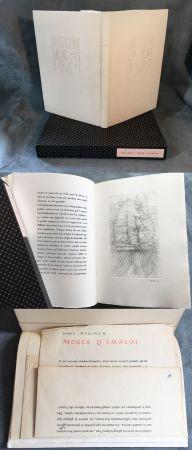 Illustriertes Buch Bellmer - MODE D'EMPLOI. 1967. (Exemplaire unique).