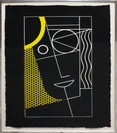 Stich Lichtenstein - Modern Head #2