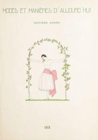 Illustriertes Buch Marty - MODES ET MANIÈRES D'AUJOURD' HUI. Huitième Année. 1919
