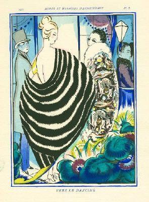 Illustriertes Buch Bonfils - MODES ET MANIÈRES D'AUJOURD' HUI. Neuvième Année. 1920