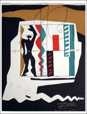 Lithographie Le Corbusier - Modular (1962)