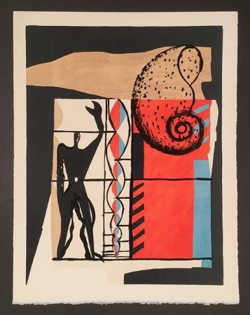 Lithographie Le Corbusier - Modulor (1955)