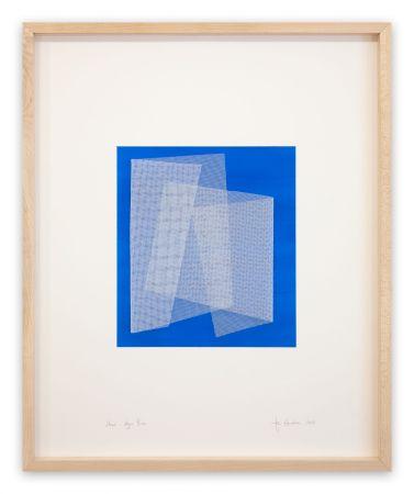Keine Technische Henderson - Moiré Azur Blue