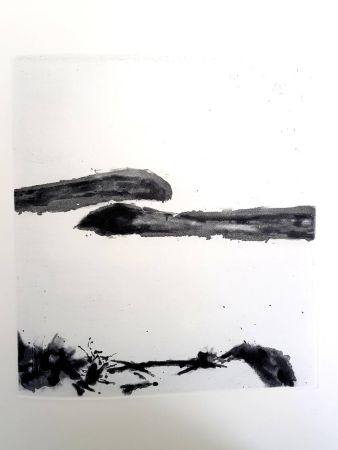 Lithographie Zao - Moments